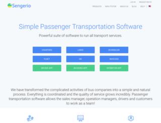 sengerio.com screenshot