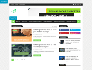senhasdicasemacetes.com screenshot