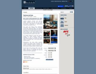 senhoradaguia.arteh-hotels.com screenshot