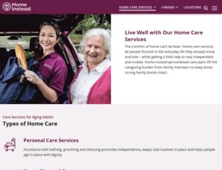 seniorcare.homeinstead.com screenshot