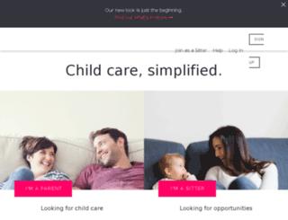 seniorcare.sittercity.com screenshot