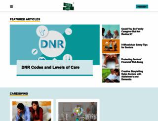 seniorcarecorner.com screenshot