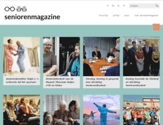 senioren-magazine.nl screenshot