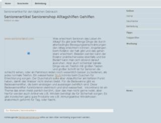 seniorenartikel.org screenshot