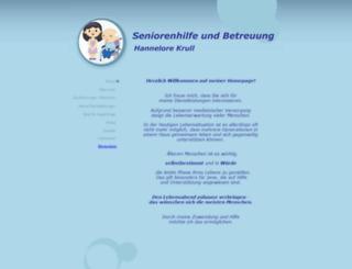 seniorenhilfe-und-betreuung.de screenshot