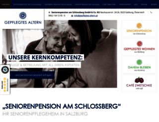 seniorenpension-schlossberg.at screenshot