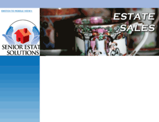 seniorestatesales.net screenshot
