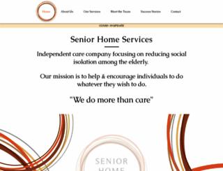 seniorhomeservices.net screenshot