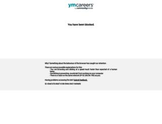 seniorhousingjobs.com screenshot