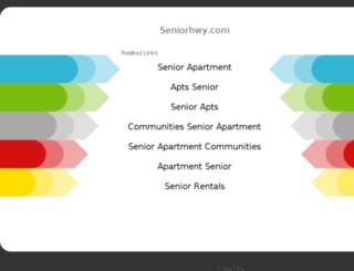 seniorhwy.com screenshot
