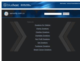 seniority.com.co screenshot