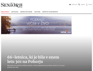 seniorji.info screenshot