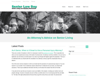 seniorlawday.org screenshot