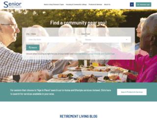 seniorlivingchoices.com screenshot