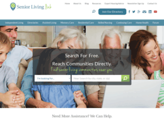 seniorlivinglink.efellecloud.com screenshot