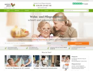 seniorplace.de screenshot