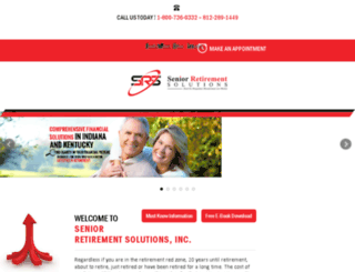 seniorretirementsolutions.com screenshot