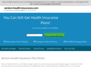 seniors-health-insurance.com screenshot