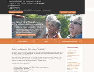 seniorsenvacances.ancv.com screenshot