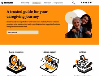 seniorsmatter.com screenshot