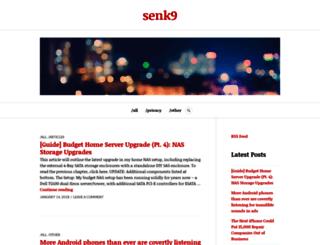 senk9.wordpress.com screenshot
