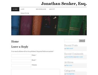 senkerlaw.com screenshot