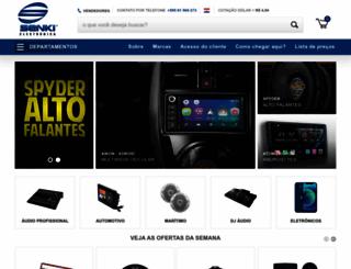 senkielectronica.com screenshot