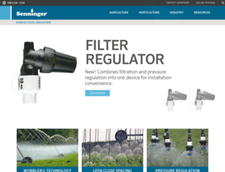 senninger.com screenshot