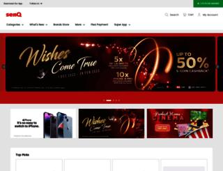 senq.com.my screenshot