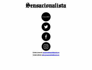 sensacionalista.com.br screenshot