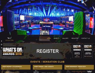 sensationclub.com screenshot