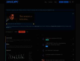 senscape.net screenshot