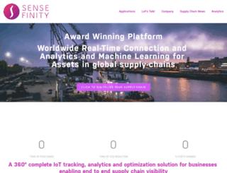 sensefinity.com screenshot
