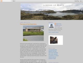 senseofplace63.blogspot.com screenshot