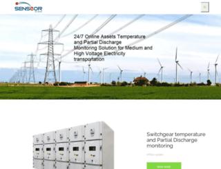 senseor.com screenshot
