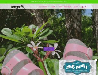 sensi-sandals.myshopify.com screenshot