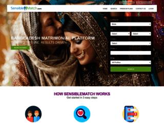sensiblematch.com screenshot
