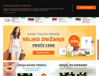sensilab.si screenshot