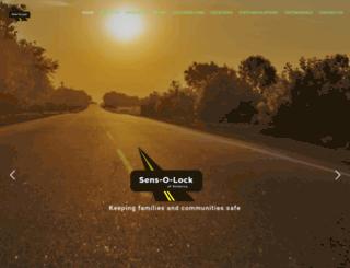 sensolockamerica.com screenshot