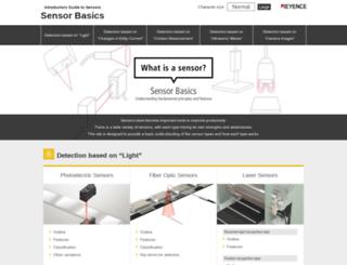 sensorcentral.com screenshot