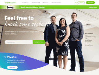 sensorlink.bamboohr.com screenshot