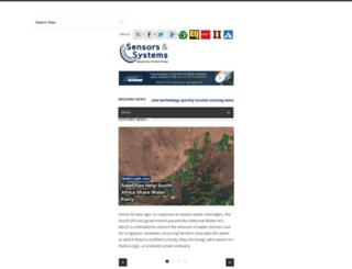 sensorsandsystems.com screenshot