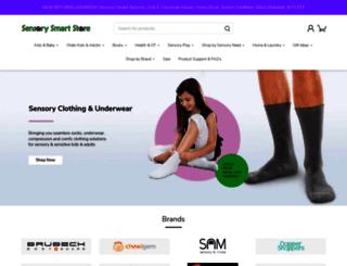 sensorysmart.co.uk screenshot
