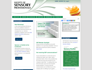 sensorysociety.org screenshot