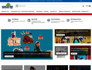 sensorytoywarehouse.com screenshot