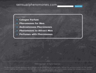 sensualpheromones.com screenshot