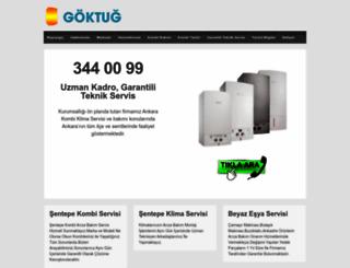 sentepekombiservisi.com screenshot