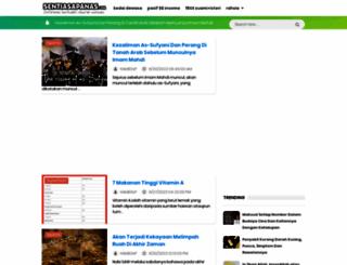 sentiasapanas.com screenshot