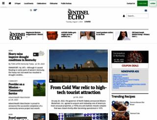 sentinel-echo.com screenshot