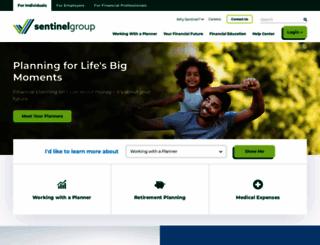 sentinelgroup.com screenshot